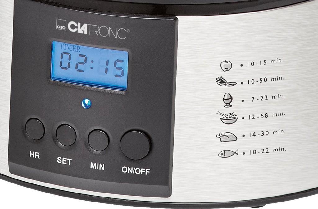 Clatronic DG 3547 Dampfgarer Test 2019