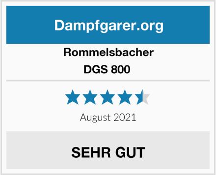 Rommelsbacher DGS 800  Test