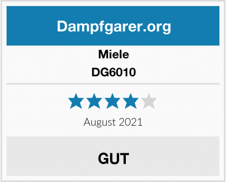 Miele DG6010 Test