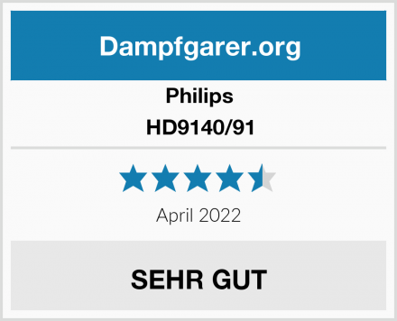 Philips HD9140/91 Test