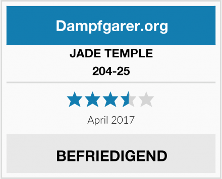 JADE TEMPLE 204-25 Test