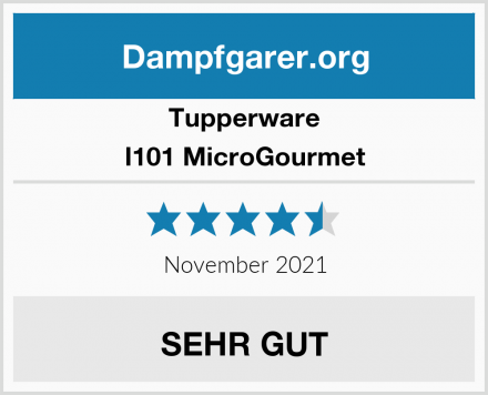 Tupperware I101 MicroGourmet Test