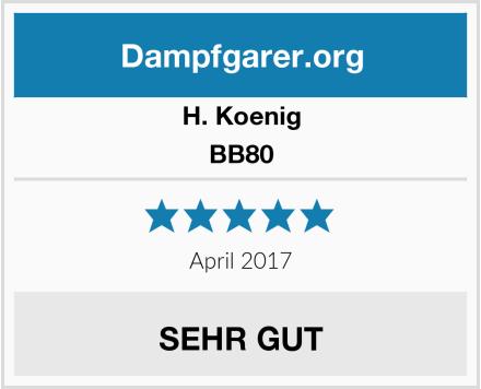 H. Koenig BB80 Test