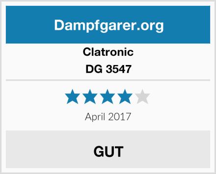 Clatronic DG 3547 Test