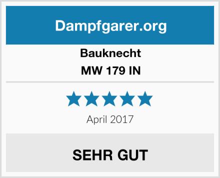 Bauknecht MW 179 IN Test