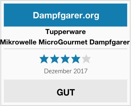Tupperware Mikrowelle MicroGourmet Dampfgarer  Test