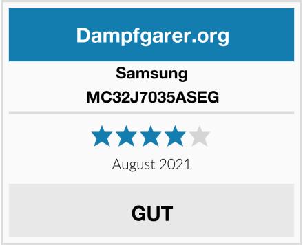 Samsung MC32J7035ASEG Test