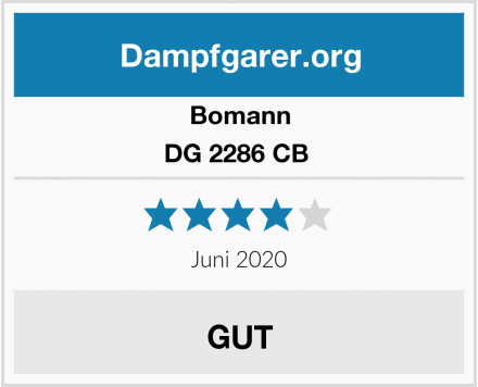 Bomann DG 2286 CB  Test