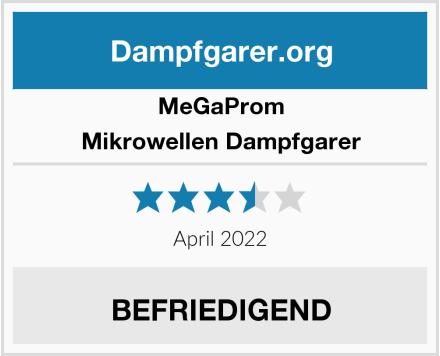 Megaprom Mikrowellen Dampfgarer Test