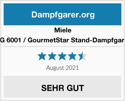 Miele DG 6001 / GourmetStar Stand-Dampfgarer Test