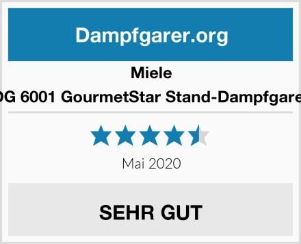 Miele DG 6001 GourmetStar Stand-Dampfgarer Test