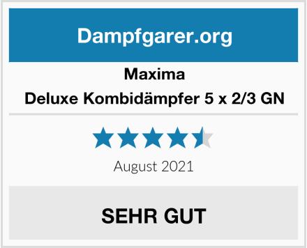 Maxima Deluxe Kombidämpfer 5 x 2/3 GN Test