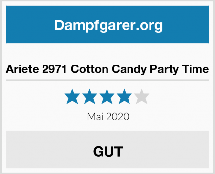 Ariete 2971 Cotton Candy Party Time Test