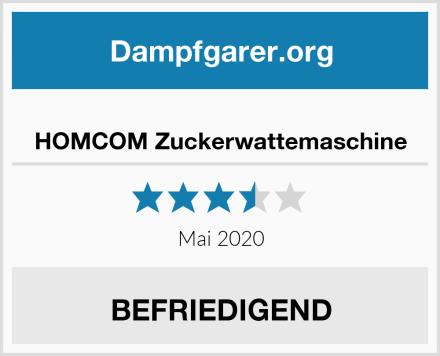 HOMCOM Zuckerwattemaschine Test