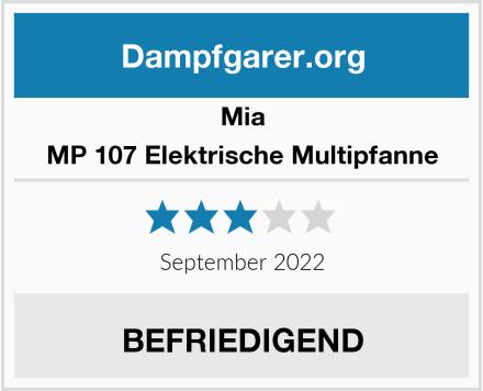 MIA MP 107 Elektrische Multipfanne Test