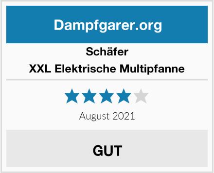 Schäfer XXL Elektrische Multipfanne Test
