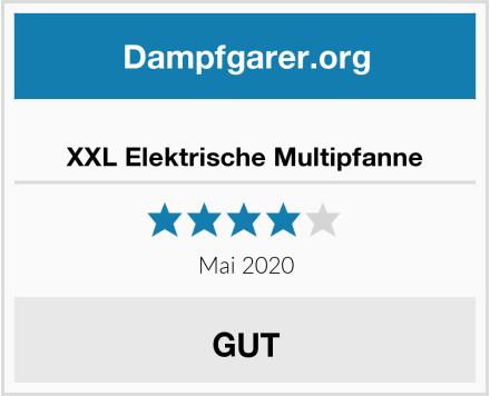 XXL Elektrische Multipfanne Test