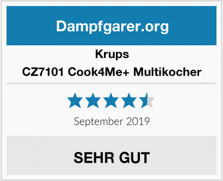 Krups CZ7101 Cook4Me+ Multikocher Test