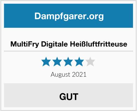 MultiFry Digitale Heißluftfritteuse Test
