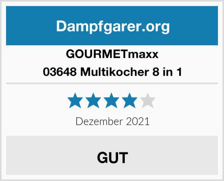 GOURMETmaxx 03648 Multikocher 8 in 1 Test