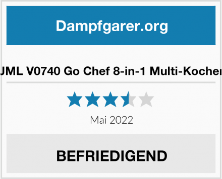 JML V0740 Go Chef 8-in-1 Multi-Kocher Test