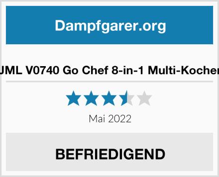 JML V0740 Go Chef 8-in-1 Multi-Kocher Test