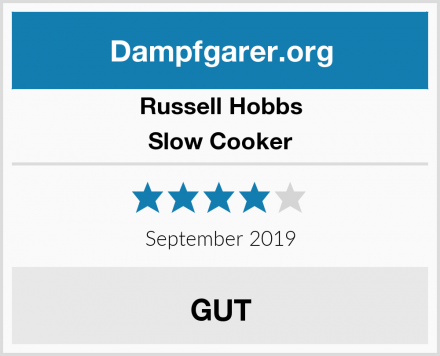 Russell Hobbs Slow Cooker Test