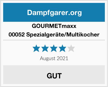 GOURMETmaxx 00052 Spezialgeräte/Multikocher Test