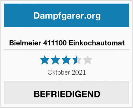 No Name Bielmeier 411100 Einkochautomat Test