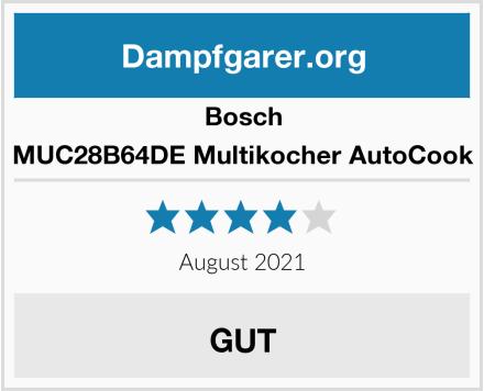 Bosch MUC28B64DE Multikocher AutoCook Test