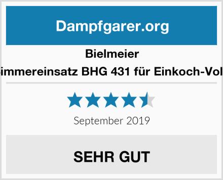 Bielmeier 431000 Simmereinsatz BHG 431 für Einkoch-Vollautomat Test