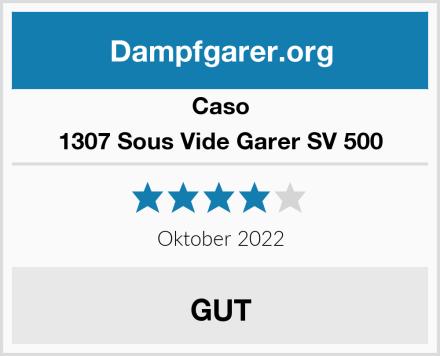 Caso 1307 Sous Vide Garer SV 500 Test