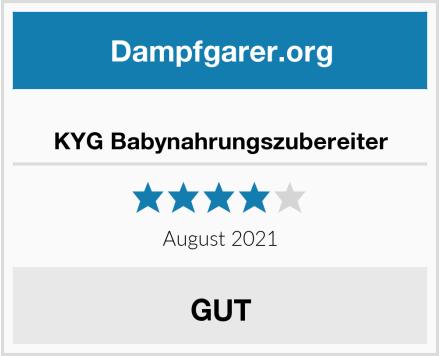 No Name KYG Babynahrungszubereiter Test