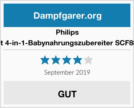 Philips Avent 4-in-1-Babynahrungszubereiter SCF883/01 Test