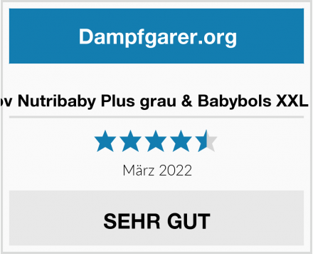 Babymoov Nutribaby Plus grau & Babybols XXL Multi-Set Test