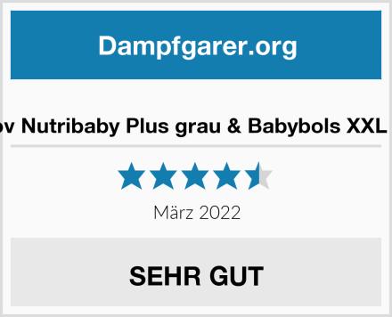 Babymoov Nutribaby Plus grau & Babybols XXL Multi-Set Test