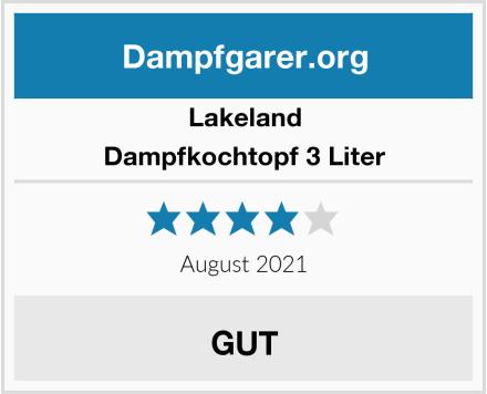 Lakeland Dampfkochtopf 3 Liter Test