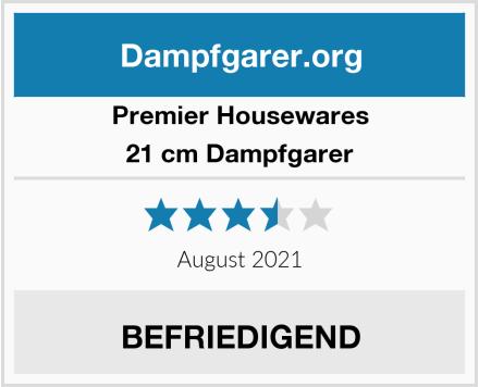 Premier Housewares 21 cm Dampfgarer Test