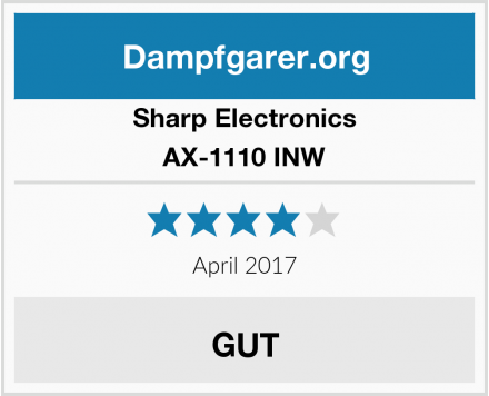 Sharp Electronics AX-1110 INW Test
