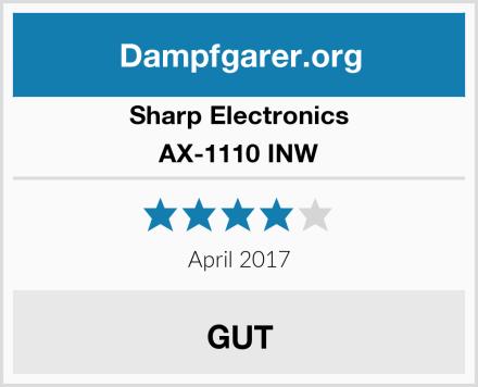 Sharp Electronics AX-1110 INW Test